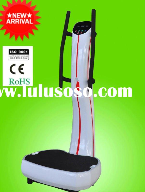 2012 New the powerplate fitness power vibration plate with liquid crystal
