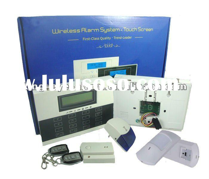 2012 Newest LCD Touch Keypad GSM Door Alarm Wireless KI-G90B