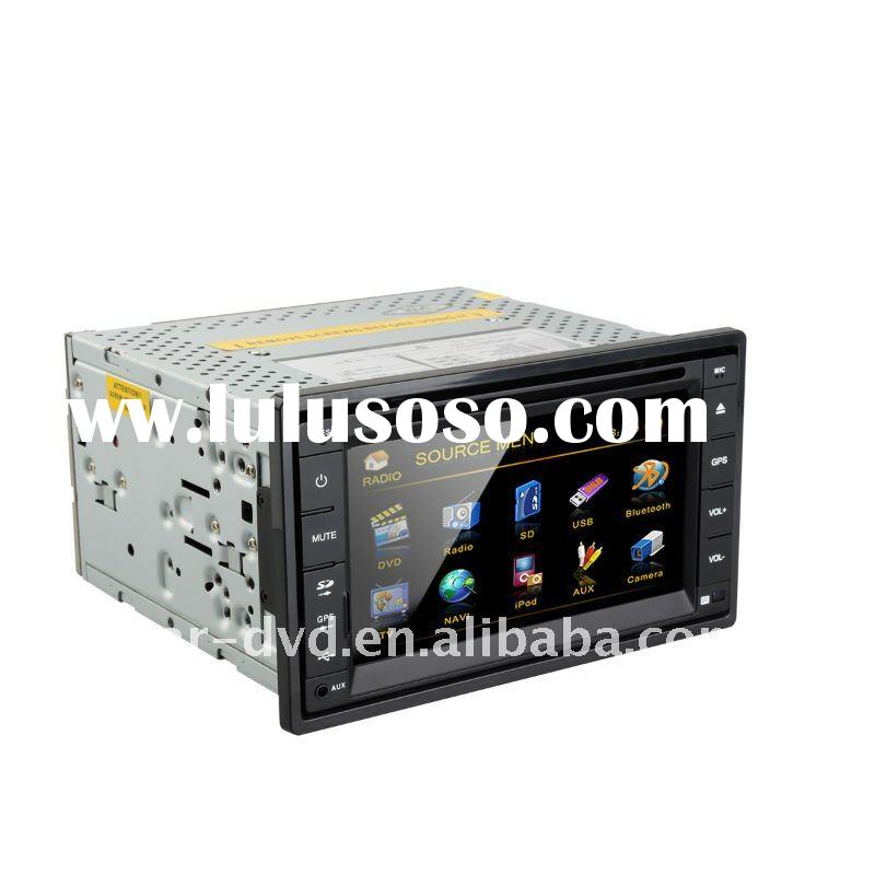 2012 new hot sell 2-DIN Car radio DVD player with gps tracking system