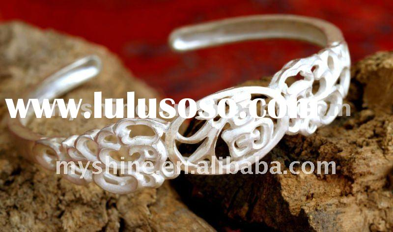 2012 newest design sterling silver bangle jewelry