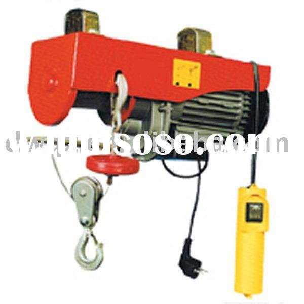 220V Mini electric wire rope hoist