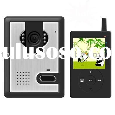 2.4G digital wireless video door phone over 300m