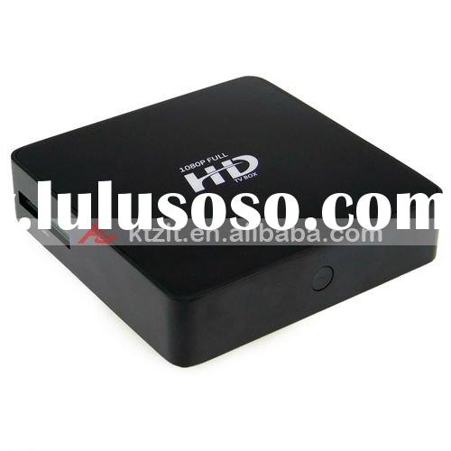 2.5'' Realtek 1080P Full HD HDMI 1.3 MKV/FLV Wifi Network HDD Media Player With DTS