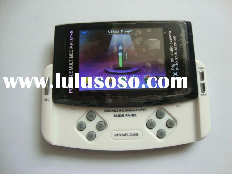 "2.8"" Portable MP3 MP4 Game Multimedia Player With slide panel"