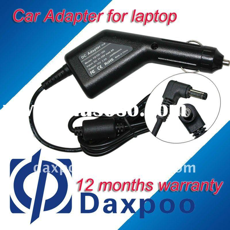 36w Car adapter for ASUS laptop Eee PC 900, 900A 1000, 1000H output 12V 3A(4.8 *1.7mm)