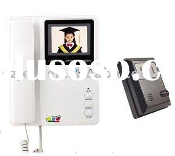 3.5''LCD Color Video and audio doorphone intercom system