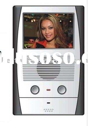 """3.5"""" color TFT LCD CR450C video intercom door phone phone system for apartment"""