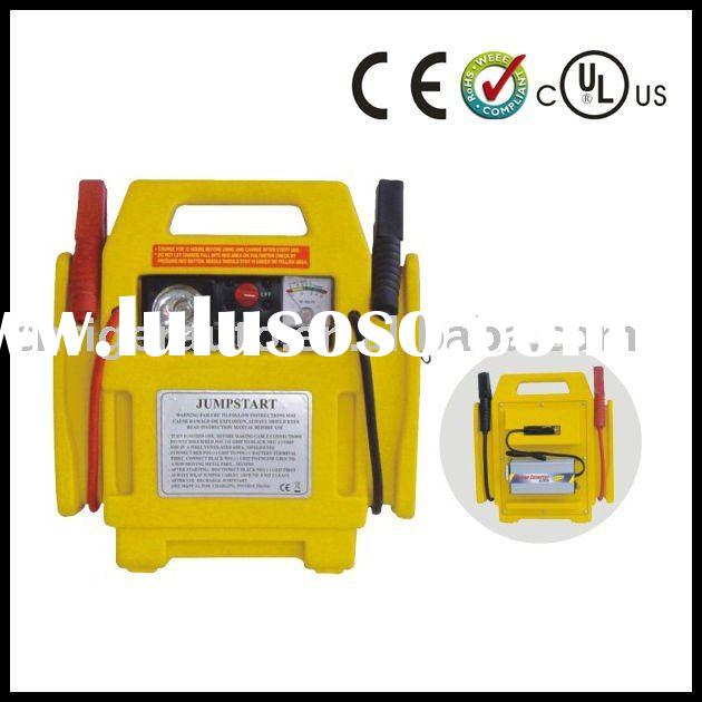 3 In 1 power station with work light and air compressor