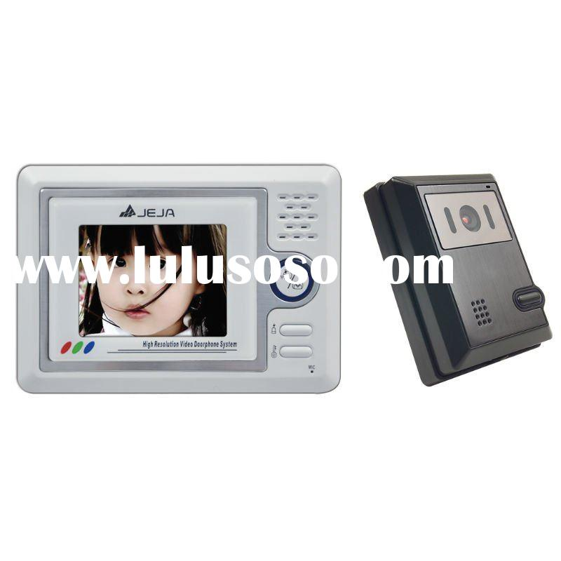 "4"" HD cheap LCD video door phone intercom system(4:3)"