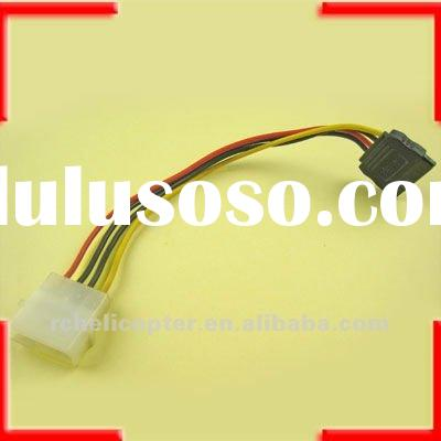 4 PIN IDE TO 15 PIN SATA HDD POWER CONVERTER CABLE