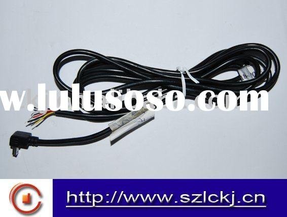 5 pin Mini USB cable with 90 degree elbow connector