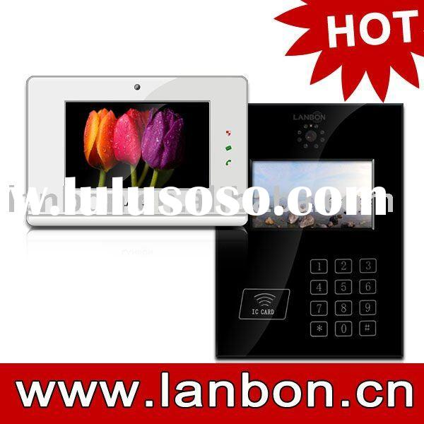 """7"""" TFT IP Video door phone security system for home automation"""