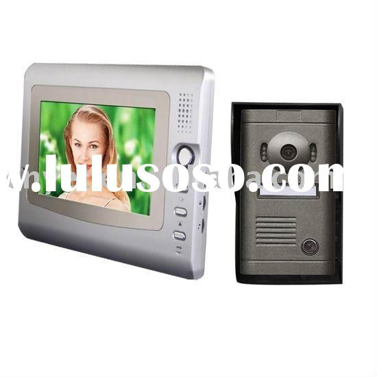 7 inch Hot Cheap Color Video Door Phone with recording function YET-CL7-X