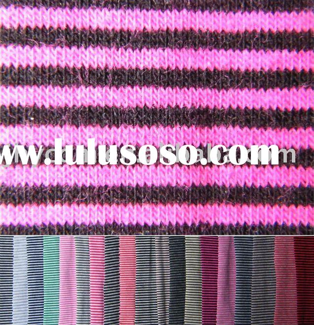 94%cotton 6%Spandex knitted Fabric