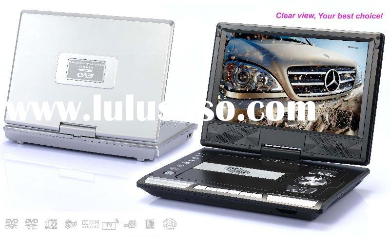 9.5 inch Portable dvd player with TV and game