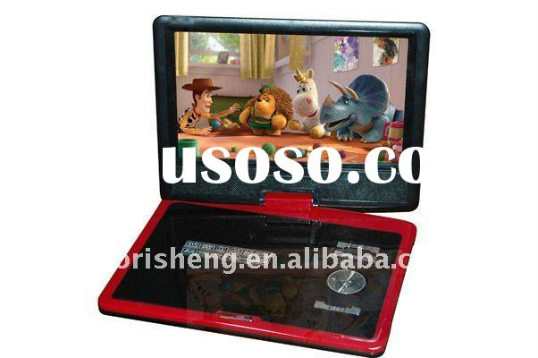 9.5inch Portable DVD Player with TV USB/SD Game FM HRS-0913