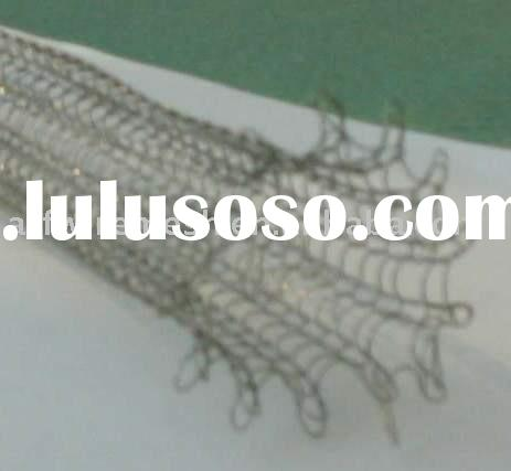 9 Knitted wire mesh