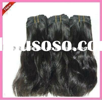 AAA quality unprocessed machine made indian hair vendor