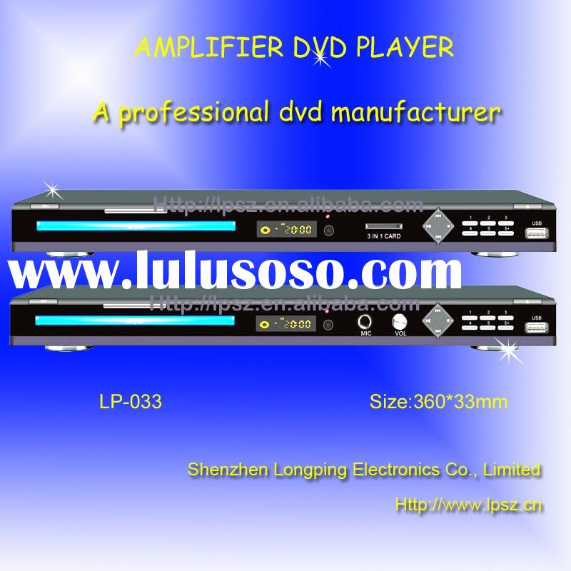 Amplifier DVD Player,divx player (LP-033)