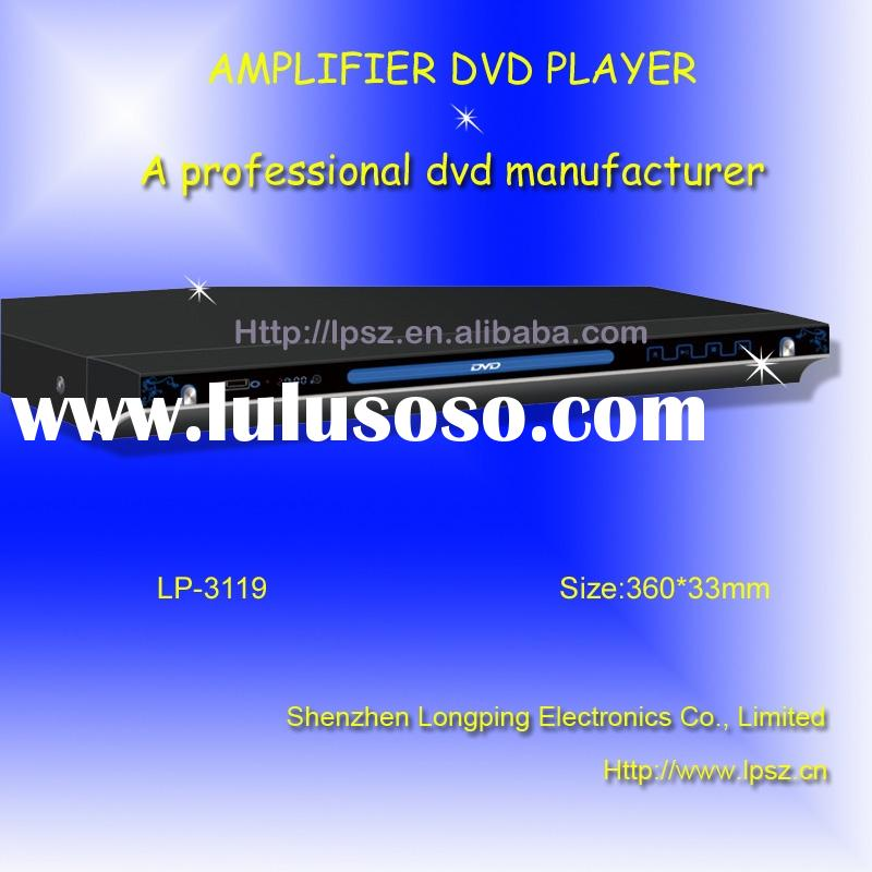 Amplifier DVD Player,divx player (LP-3119)