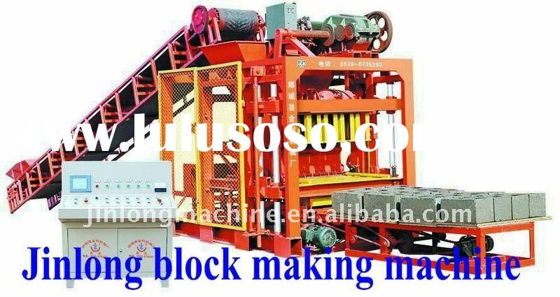 Automatic concrete block making machine price