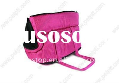 Beautiful pink solid dog carrier bag