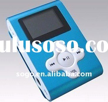 Best Selling Mini Top Clip MP3 Player