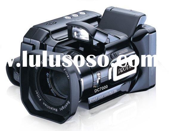 Black Digital Digital Camera/Camcorder/Video DC7000 with Sunlight Rejection Filter