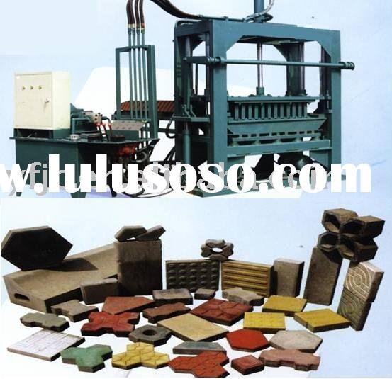 Block Machine(QT1500A)/block making machine/brick making machine/brick machine/concrete block machin