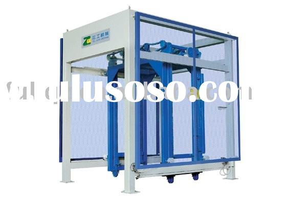 Block stacking machine