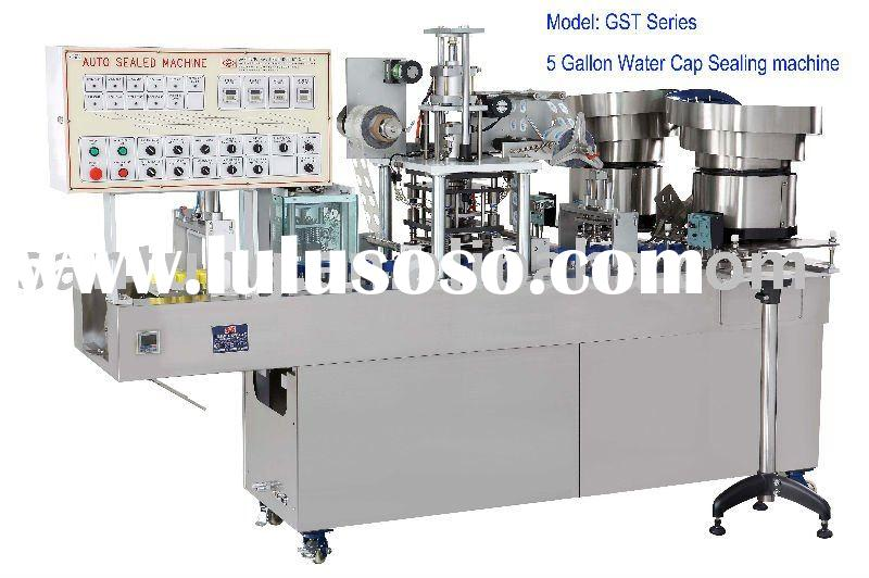 Bottle water cap sealing machine