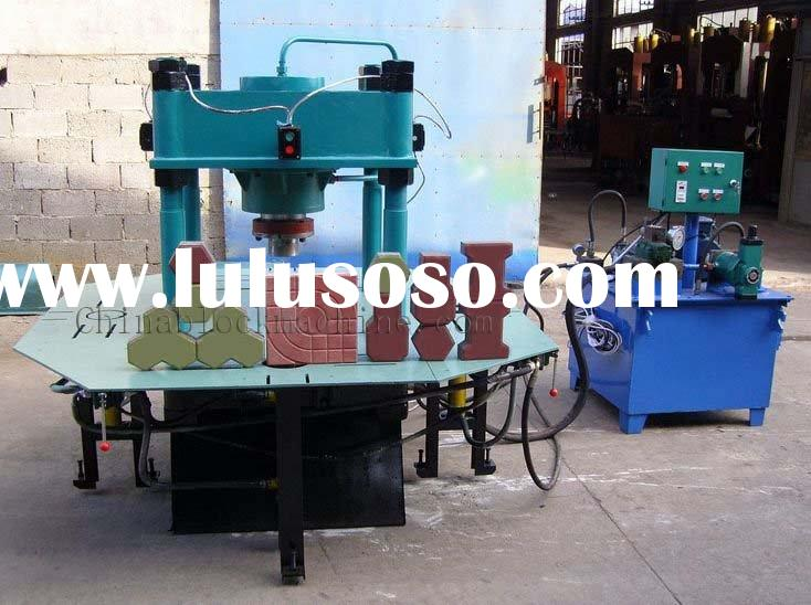 CONCRETE BLOCK PAVING STONE MAKING MACHINE KERBS MAKING MACHINE DY150T
