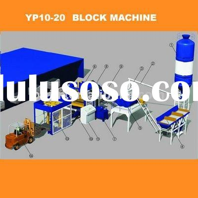 Cement Block Making Machine - PJ6- 15 for construction material