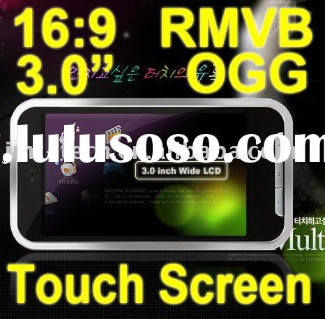 Cheap 2GB 4GB 8GB mp4 player Touch Screen media player RMVB OGG Portable Audio player digital mp4 Fm