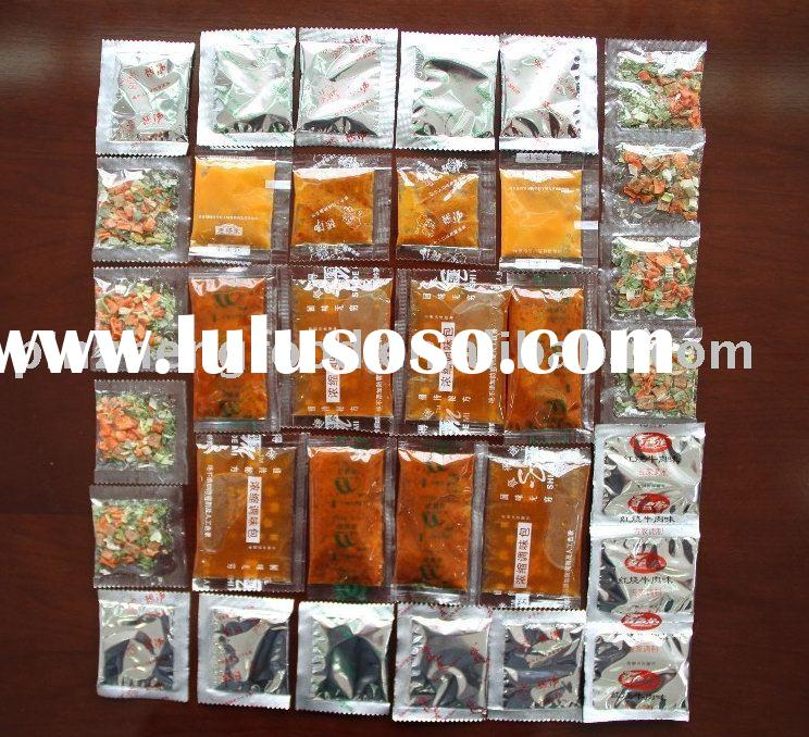 Condiments:instant noodles seasoning powder and sauce sachets