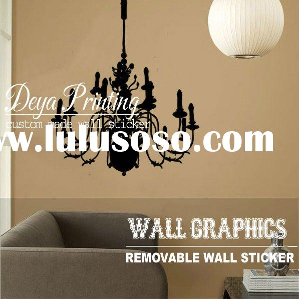 Custom Made Removable Chandelier Vinyl Wall Decal