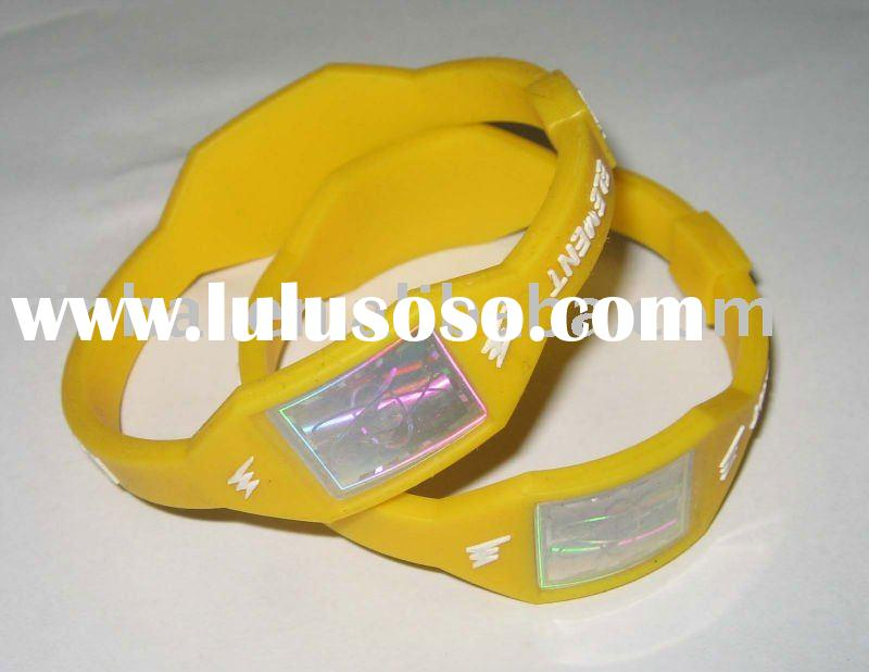 Custom design Silicone Power Magnetic Bracelet with cheaper price