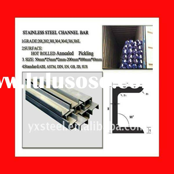DIN 304L Stainless Steel Channel Bar