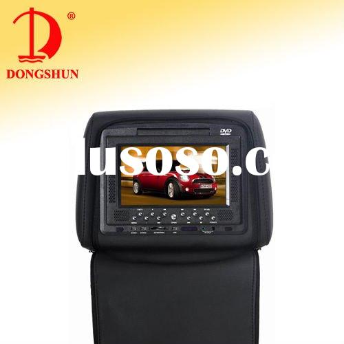 DS-668C 7 inch Car Head Rest DVD player(SONY Lens,Zipper Cover)
