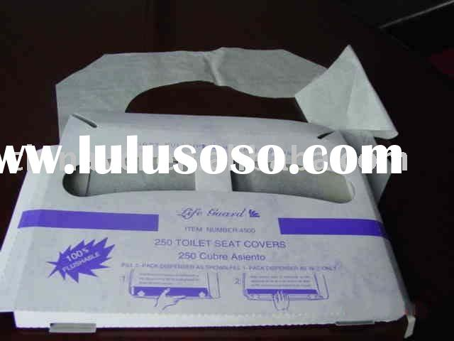Disposable Paper toilet seat cover,toilet paper seat cover