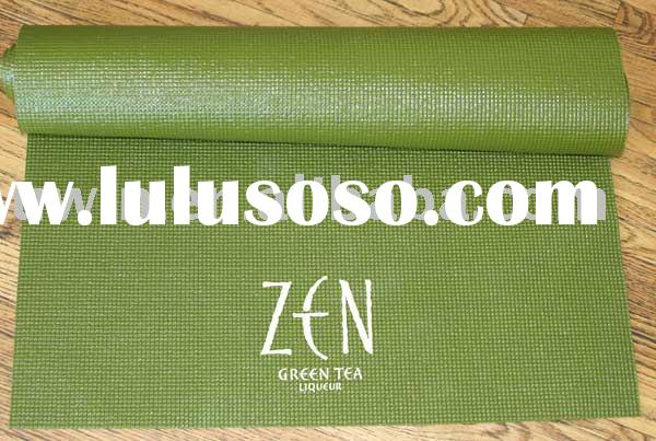 Eco Yoga Mat with silk-screen logo(3mm~6mm is available)