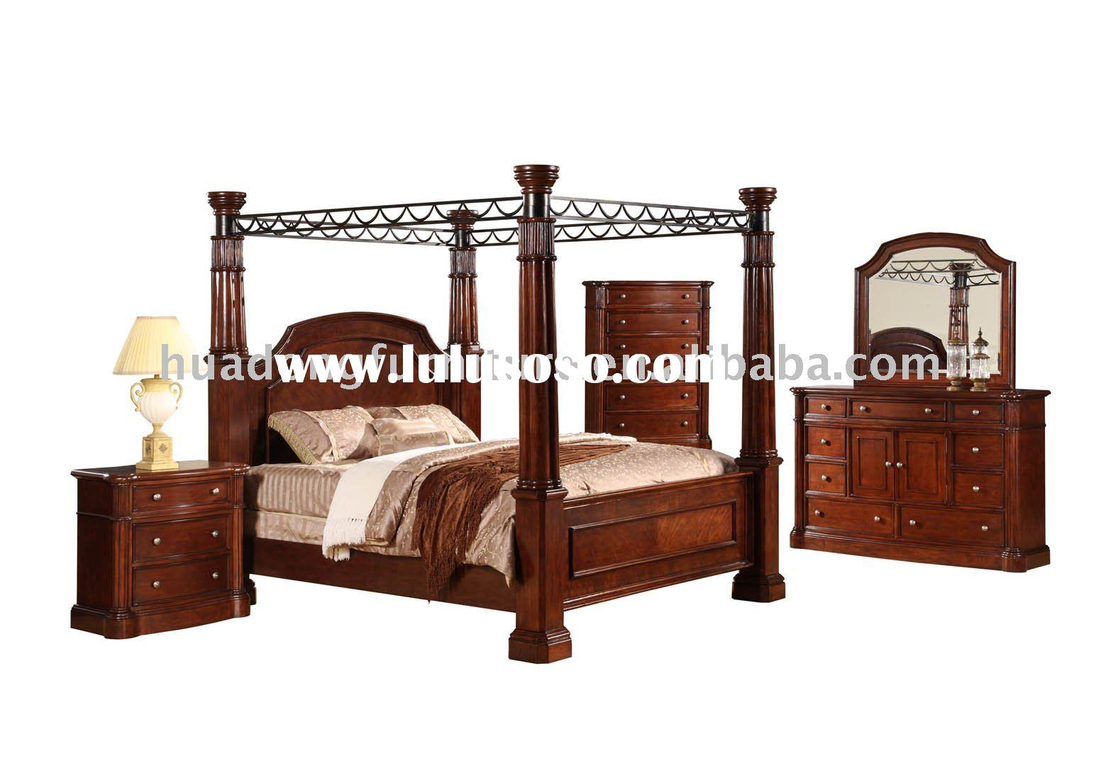 Very Impressive portraiture of 907 MDF and solid wood bedroom furniture for sale Price China  with #3E1C12 color and 1552x1070 pixels