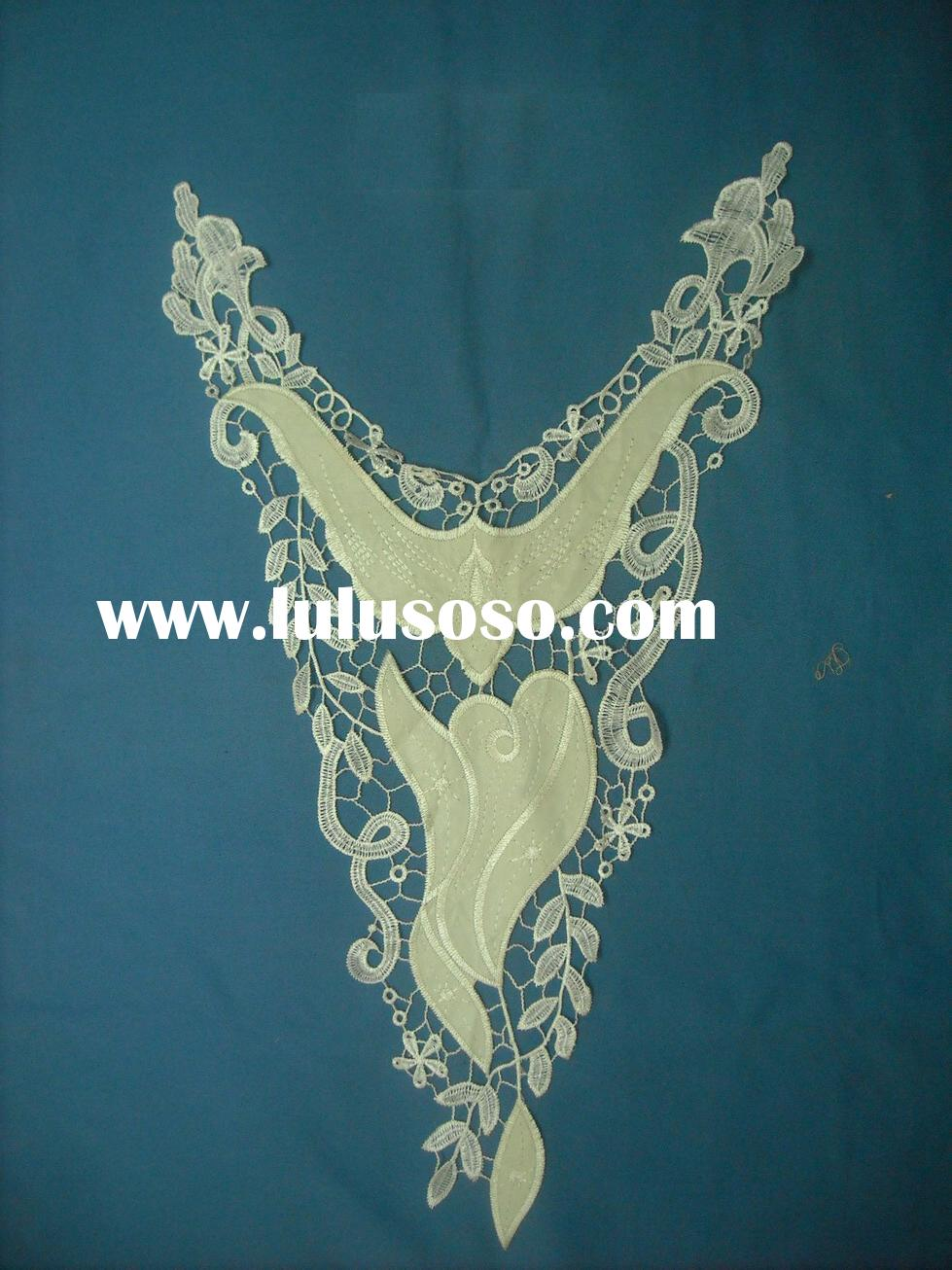 Embroidery Lace, Neck Lace, Garment Accessory