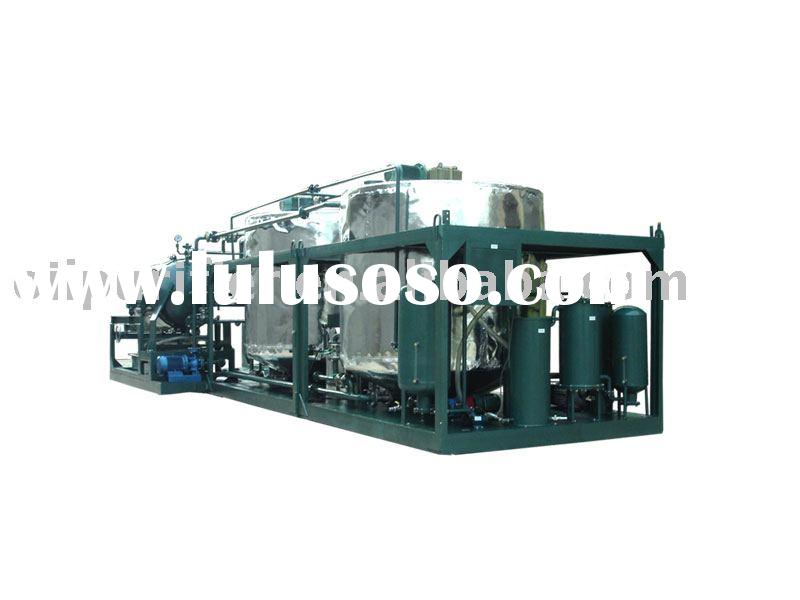 Engine oil recycling machine series LYE/ black oil processing/ oil refinery