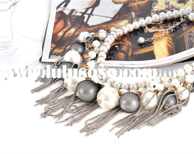 Fashion Artificial Pearl Jewelry Necklace