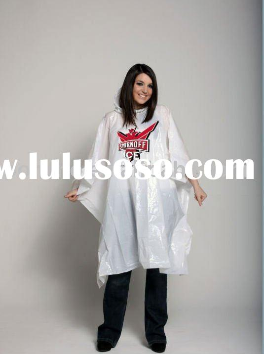 Fashion Ladies Raincoat Poncho