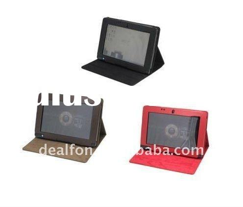Folio Stand Leather Case Cover For Acer Iconia Tab W500 10.1""