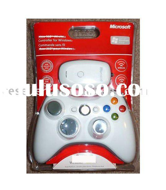 For microsoft xbox 360 wireless controller with PC wireless gaming receiver for windows