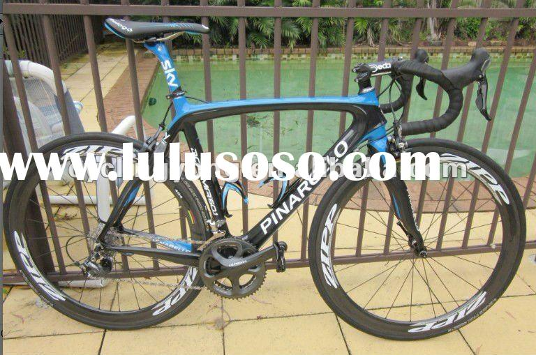 Free shipping 2011 Pinarello Dogma 60.1 sky team Wiggins carbon road frame and fork size 58, wholesa