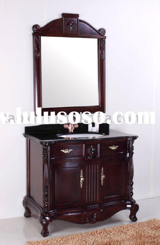 Free standing antique style solid wood home supplys